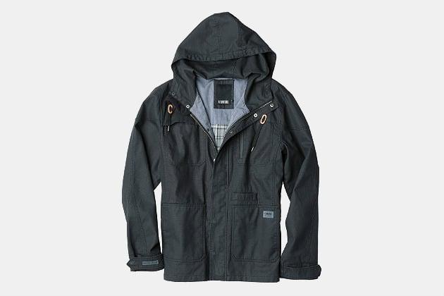 Linksoul Waxed Canvas Hooded Jacket