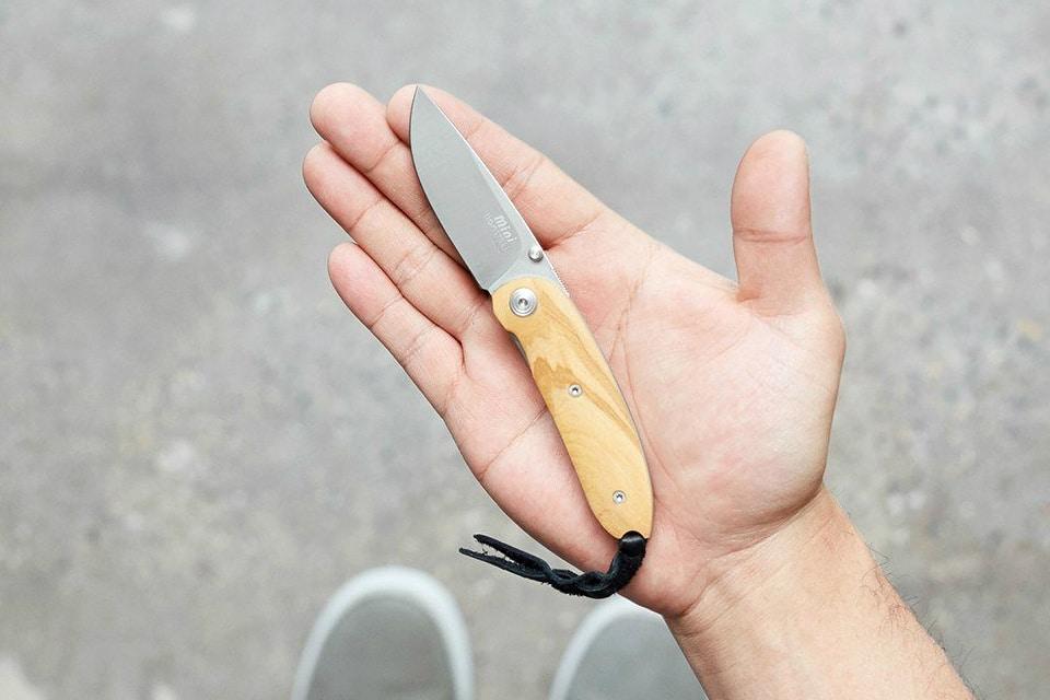 Lion Steel Mini Folding Knife