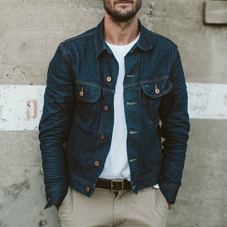 The Long Haul Jacket In Cone Mills 68 Selvage