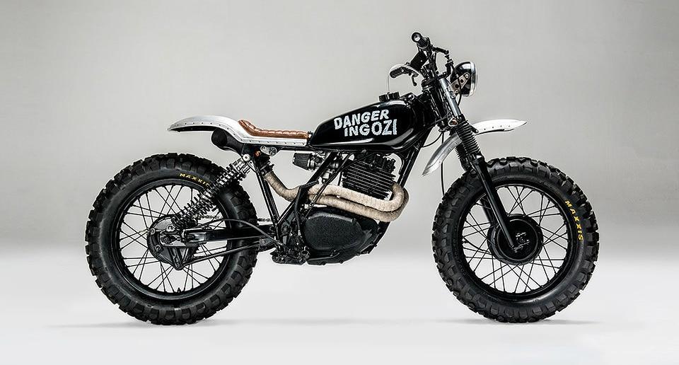 Los Muertos Swart Gevaar Honda XL 500