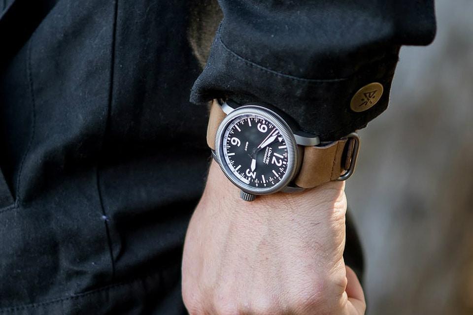 Lum-Tec x Huckberry Watch
