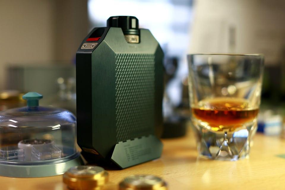 The Macallan URWERK Flask