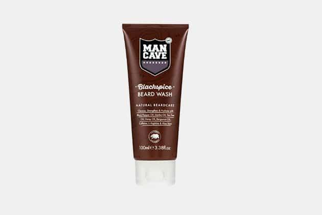 ManCave Black Spice Beard Wash