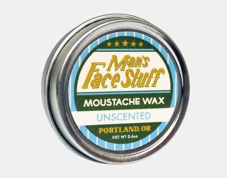 Man's Face Stuff Moustache Wax