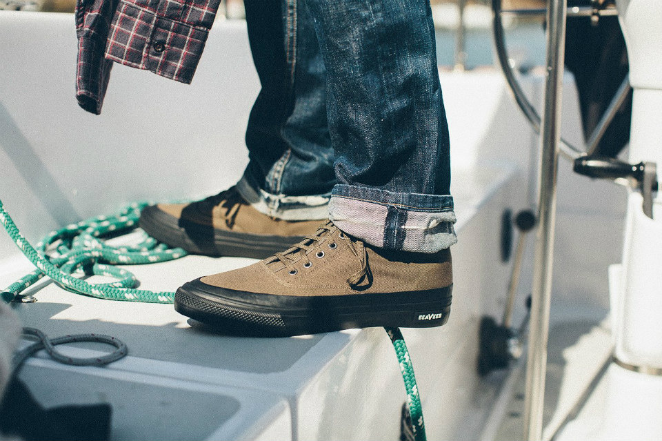 Taylor Stitch x SeaVees Mariners Boot