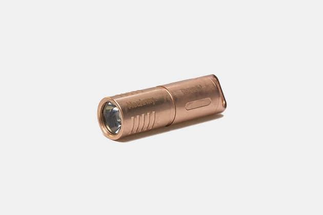 MecArmy Illuminex-3 Copper Flashlight