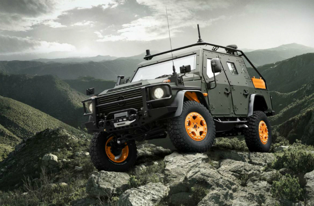 Mercedes-Benz G-Wagon LAPV 6.X Apocalypse Vehicle