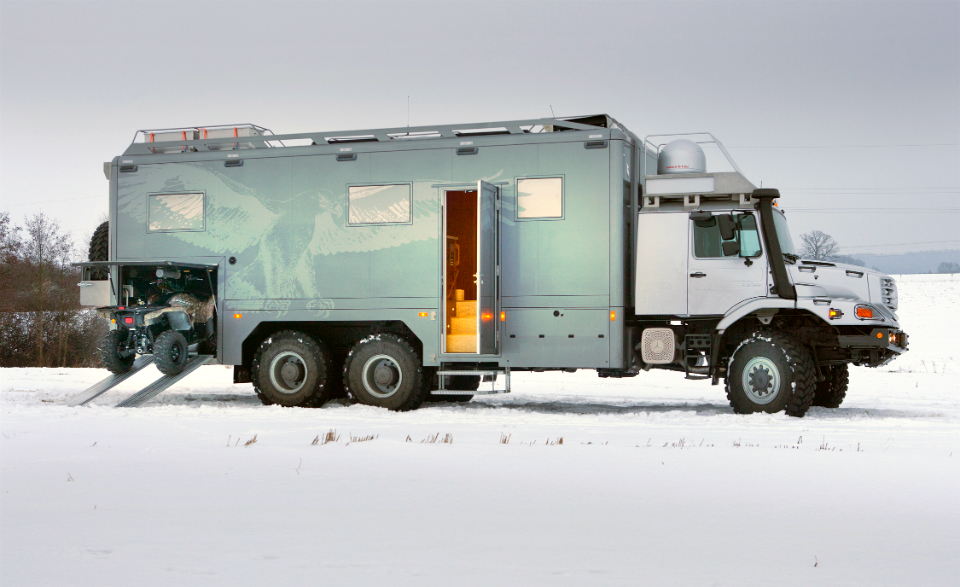 Mercedes Benx Zetros Expedition Vehicle