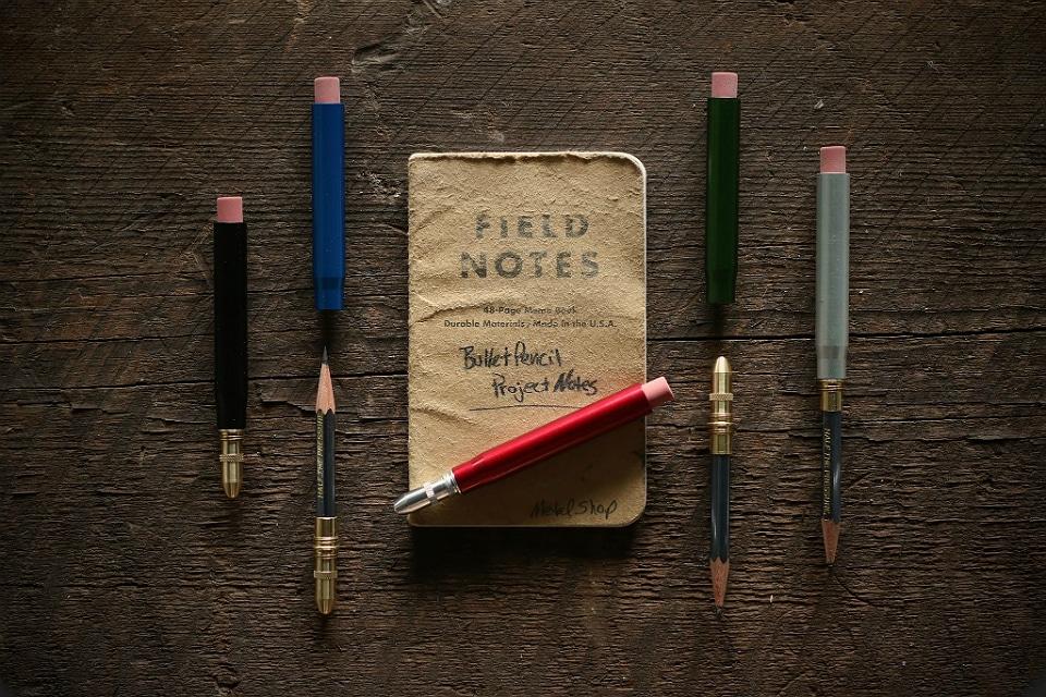 Twist Bullet Pencil by Metal Shop