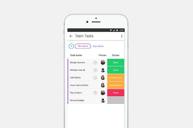 Monday Management App
