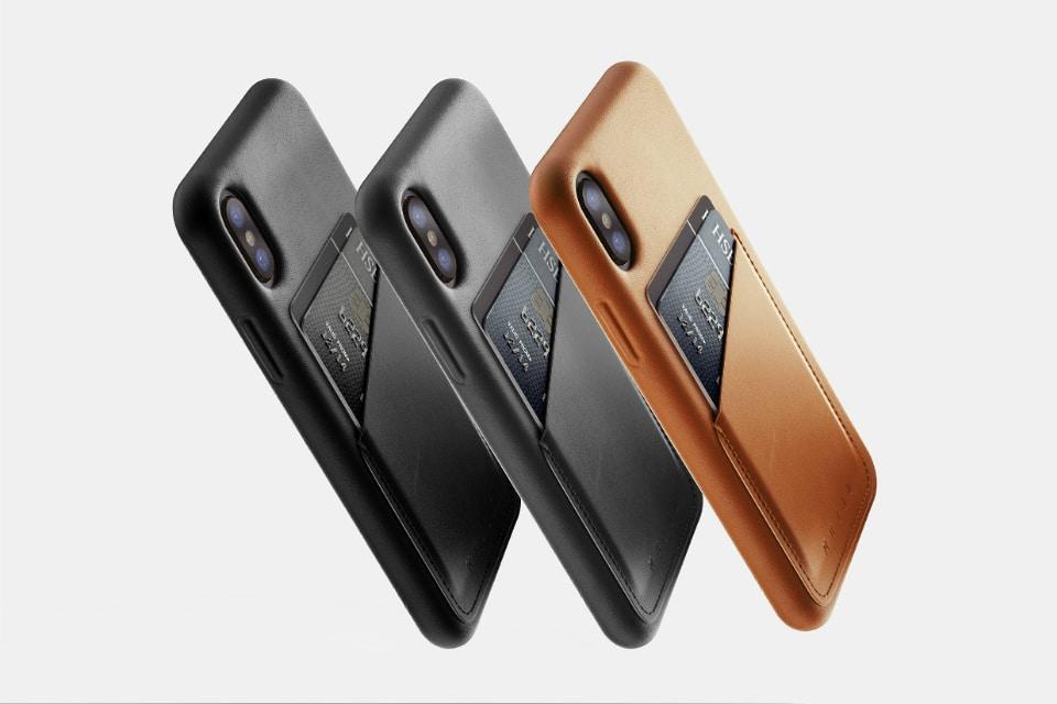Mujjo iPhone X Wallet Cases