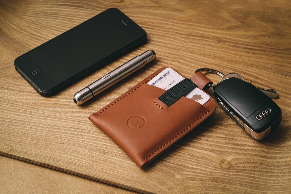 Aecraft Slim Wallet Tan
