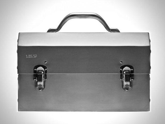 Nickel Plated Aluminum Lunchbox