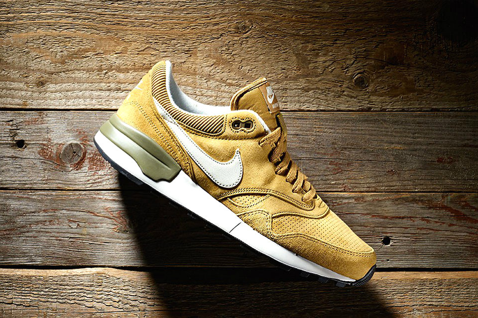 Nike Air Odyssey leather golden tan