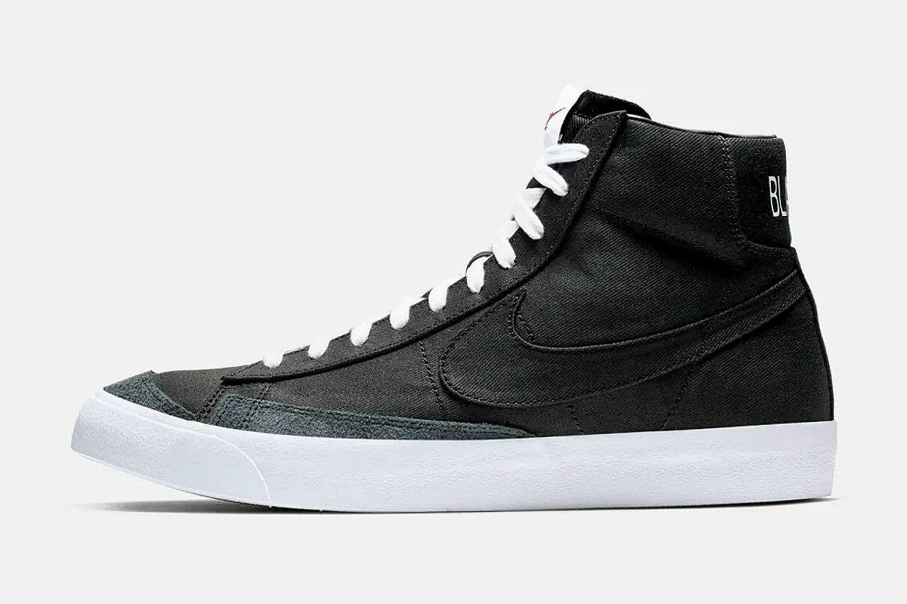 Nike Blazer Mid '77 Black Canvas