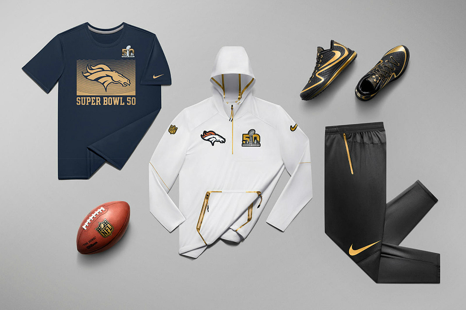 huge selection of c9a9e 61404 Nike Super Bowl 50 Collection | GearMoose