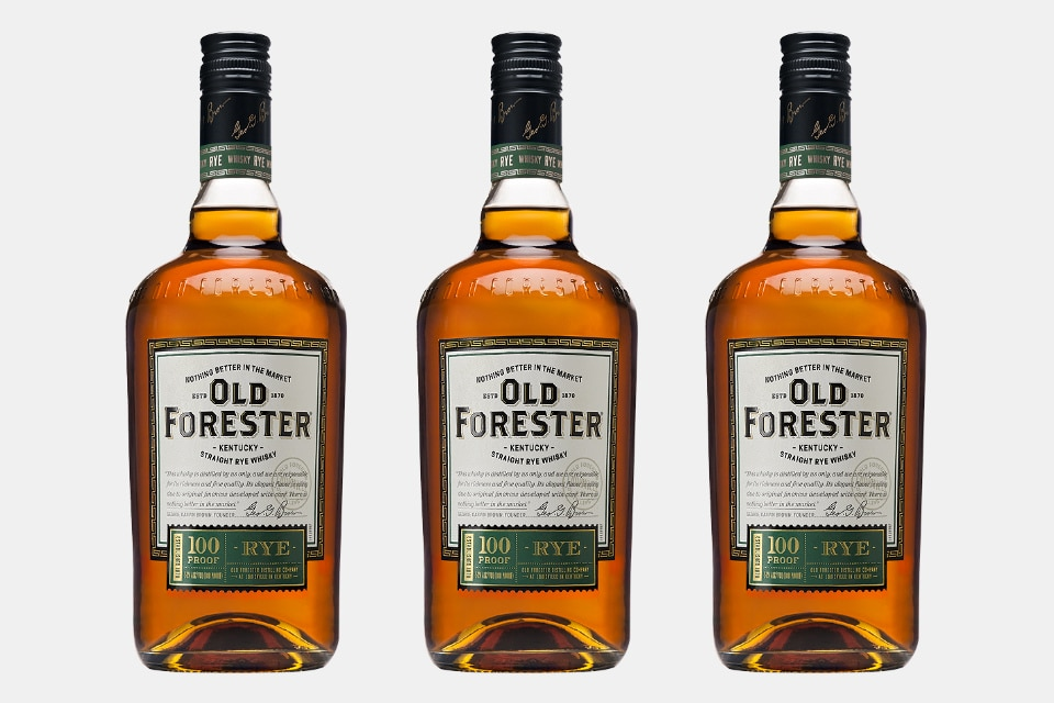 Old Forester Kentucky Straight Rye Whiskey