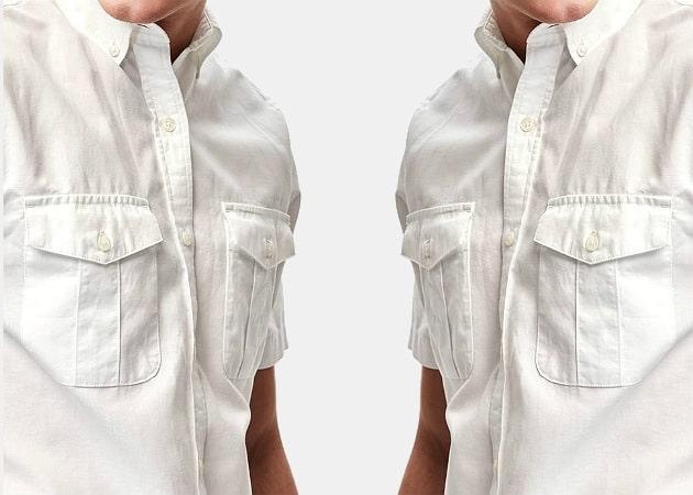 Old Navy Linen-Blend Slim-Fit Shirt