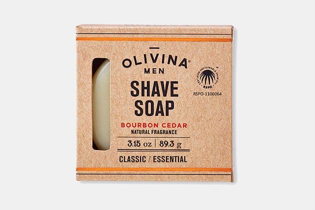 Olivina Men Shave Soap