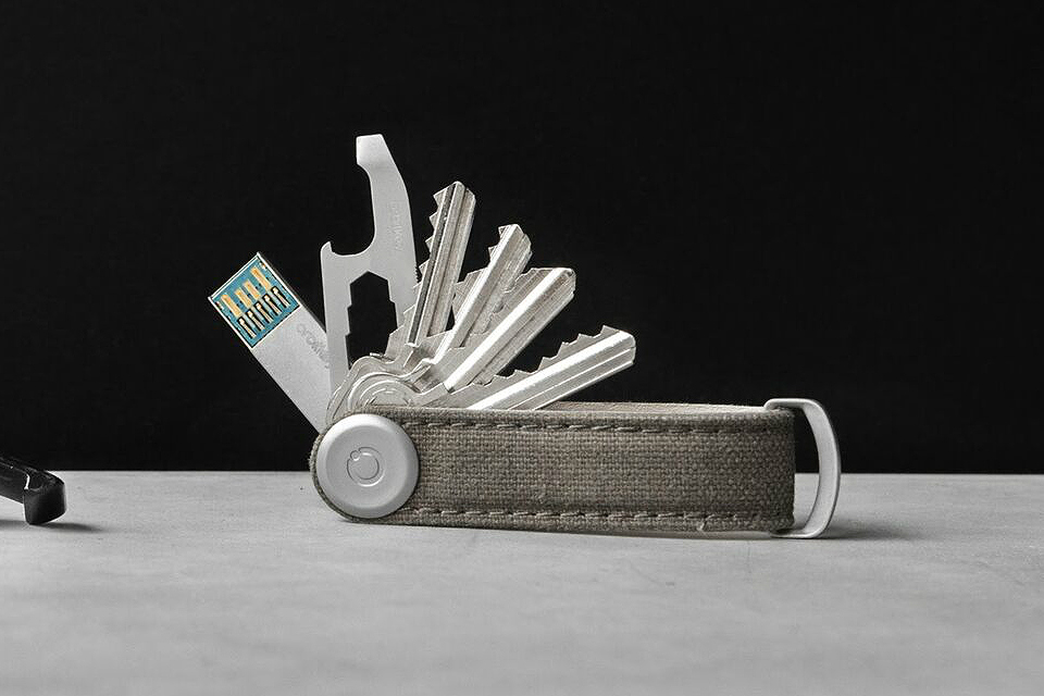 New Orbitkey 2.0 Key Holder Multi-Tool Silver
