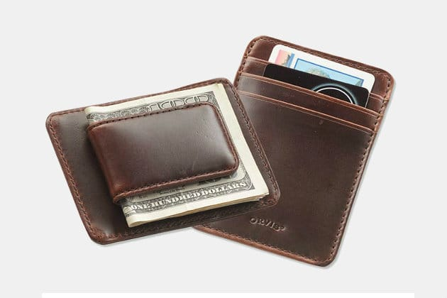 Orvis Heritage Leather Money Clip Wallet