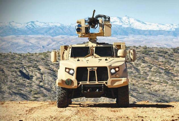 Oshkosh Defense Light Combat Tactical All-Terrain Vehicle