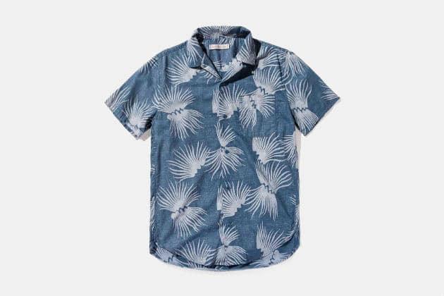 Outerknown BBQ Hawaiian Shirt