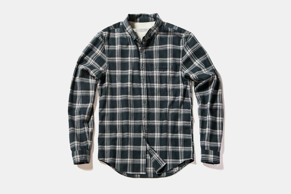 Outerknown Cascade Plaid Essential Shirt