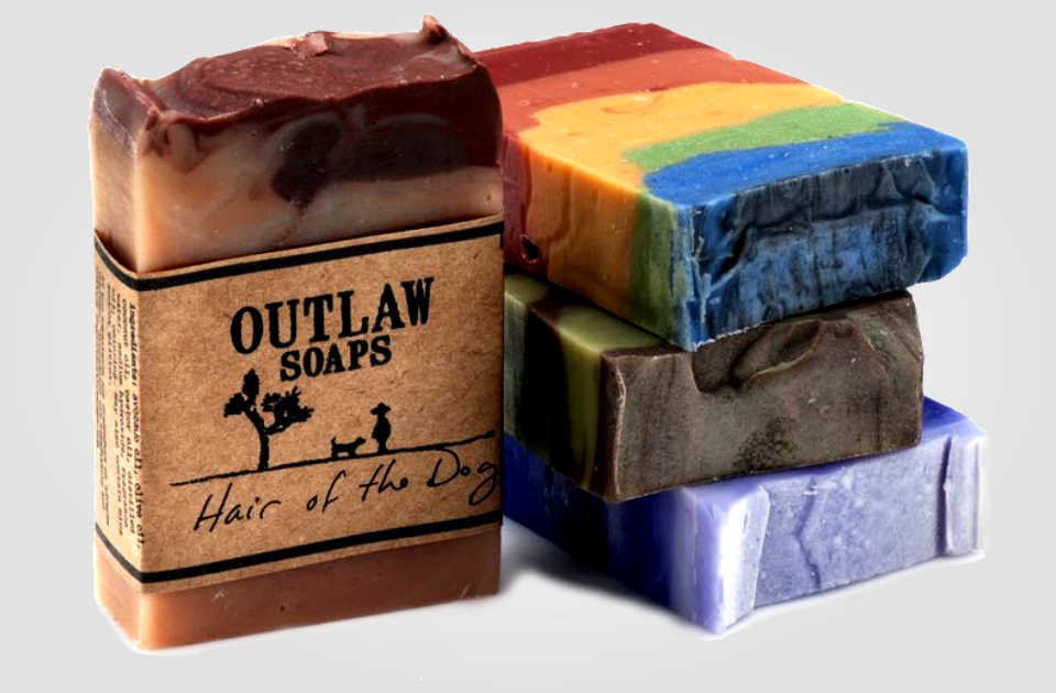 Outlaw Manly Scented Soaps for Men