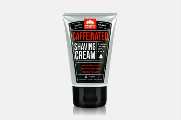 Pacific Shaving Co. Caffeinated Shaving Cream