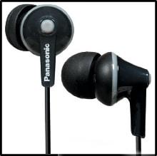 Panasonic RPTCM125K In-Ear Headphones