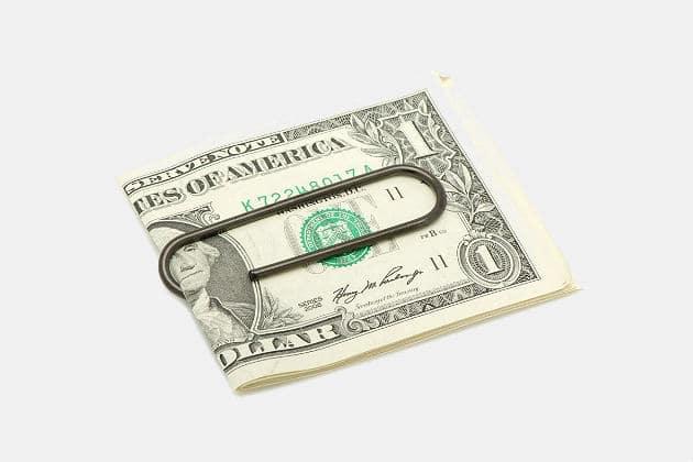 Paper Clip Money Clip
