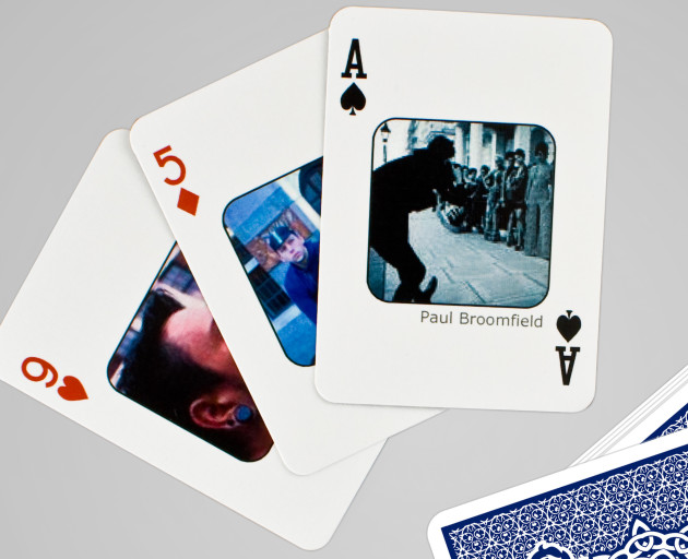Personalized Facebook Playing Cards