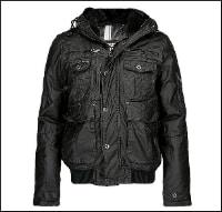 Petrol Hooded Jacket