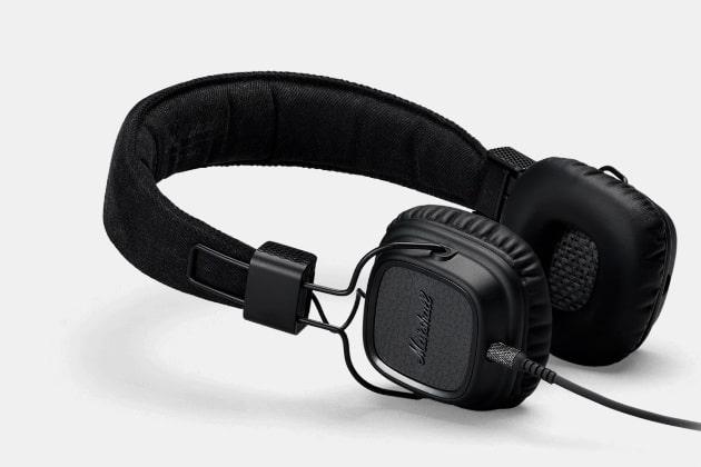 Marshall Major II Pitch Black Headphones