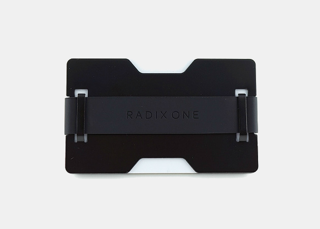 Radix One Black Steel Wallet