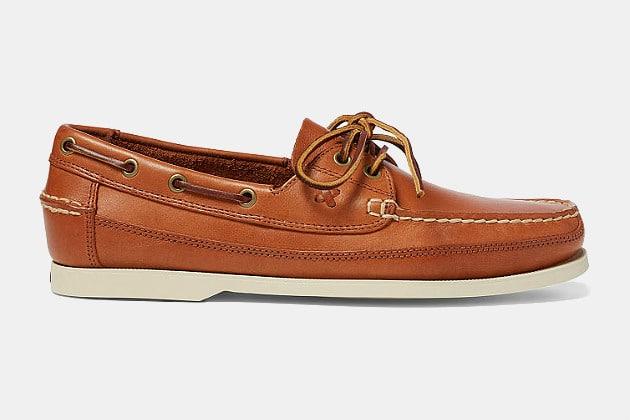 Polo Ralph Lauren Barnard Calfskin Boat Shoe