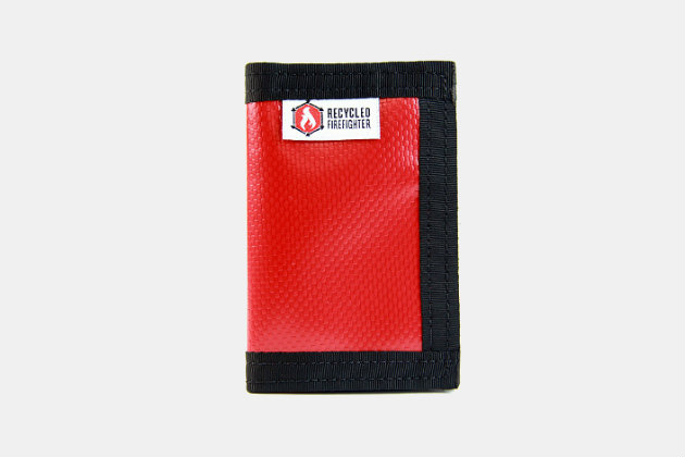 Recycled Firefighter Vinyl Rookie Wallet