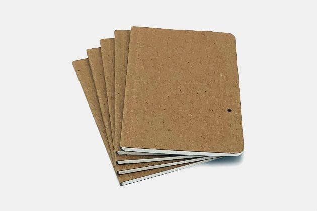 Guided Recycled Notebooks