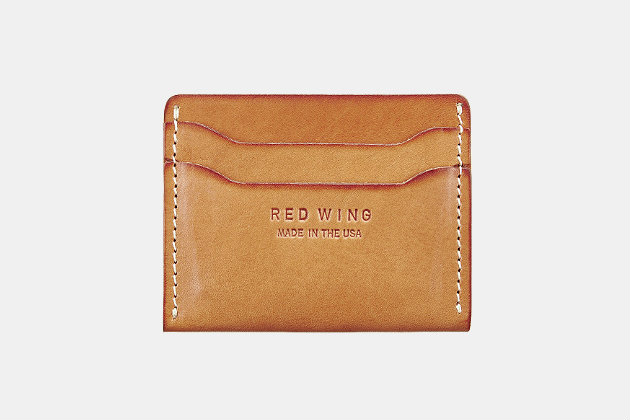 Red Wing Heritage Card Holder