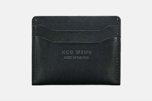 Red Wing Leather Card Holder Wallet