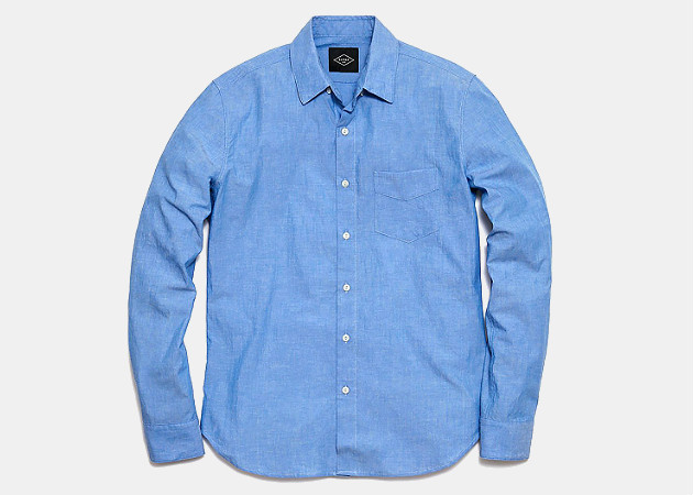 Rivay NYC Gaspar Chambray Shirt