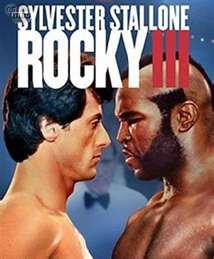 Rocky 3 Stallone Movie