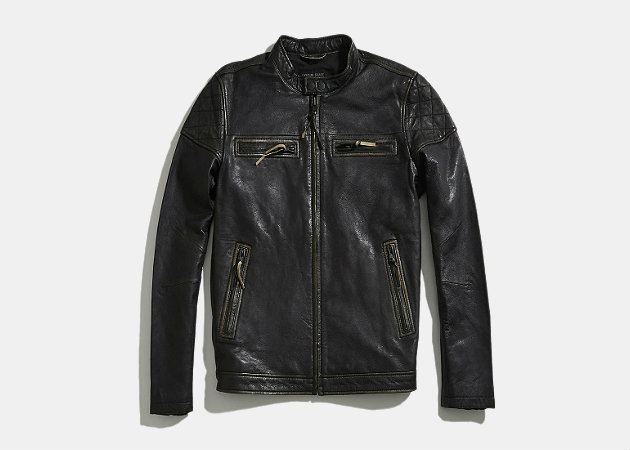 Rogue State Distressed Moto Jacket