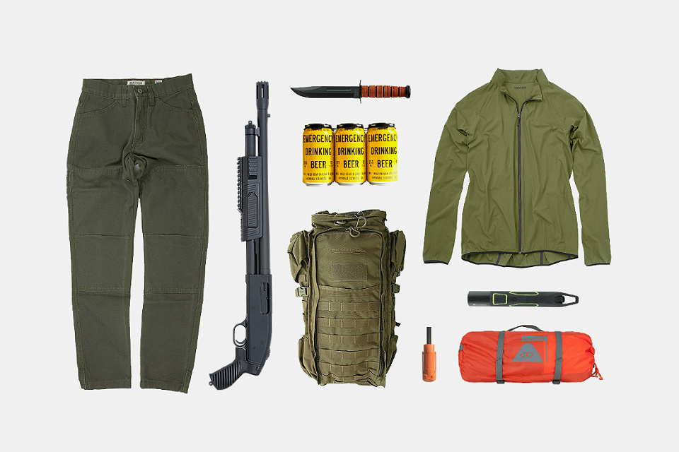 Essentials for roughing it