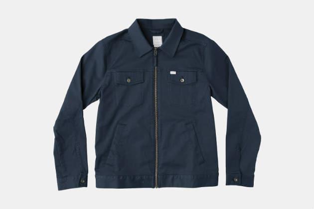RVCA Spanky Trucker Jacket