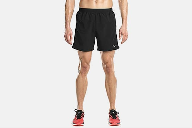 "Saucony Men's Alpha 5"" Woven Shorts"