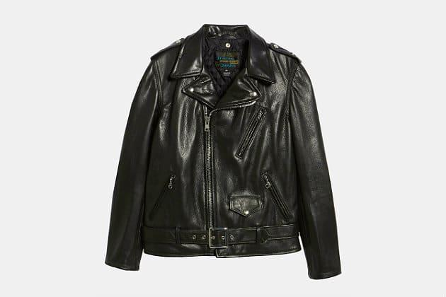 Schott 50's Oil Tanned Leather Moto Jacket