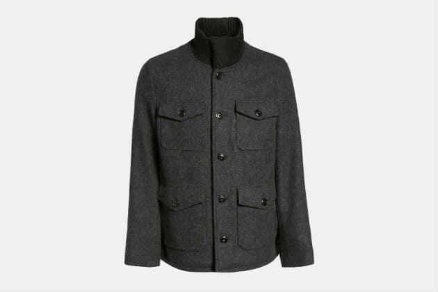 Schott Wool Blend Field Jacket