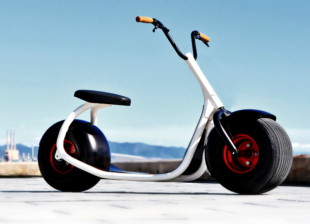 Scrooser Urban scooter on kickstarter